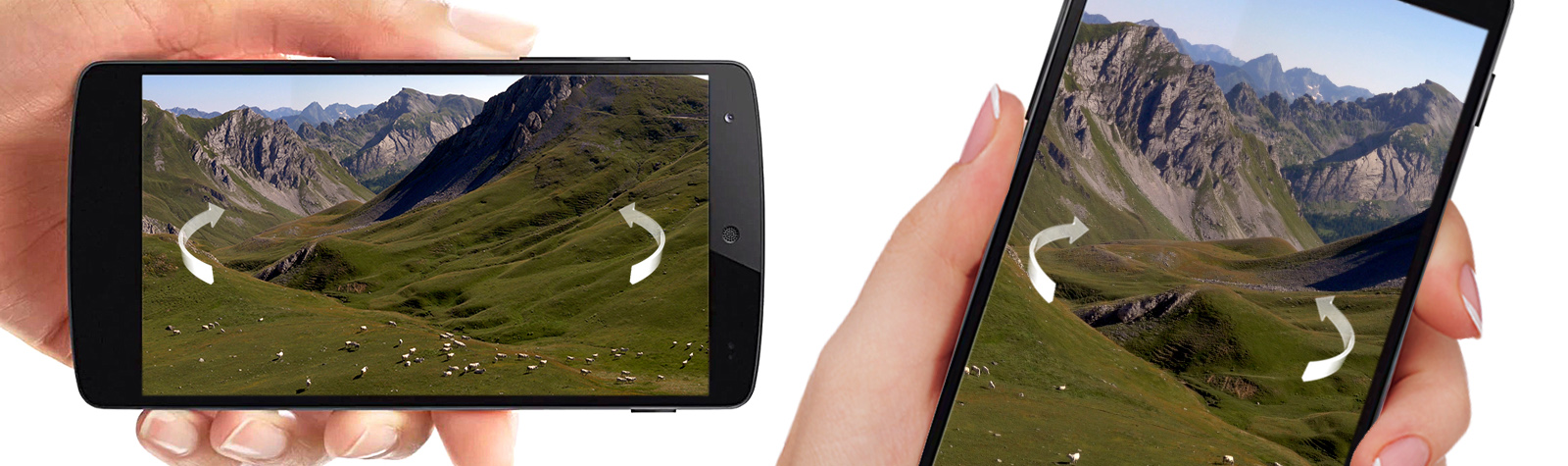 Mobile Device 360° interactive